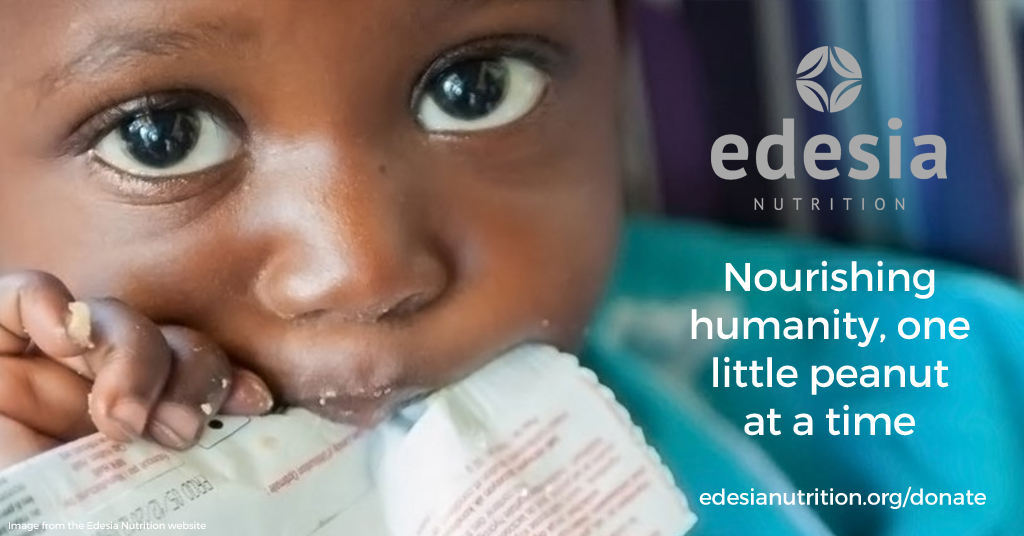 Donate to Support Edesia Nutrition
